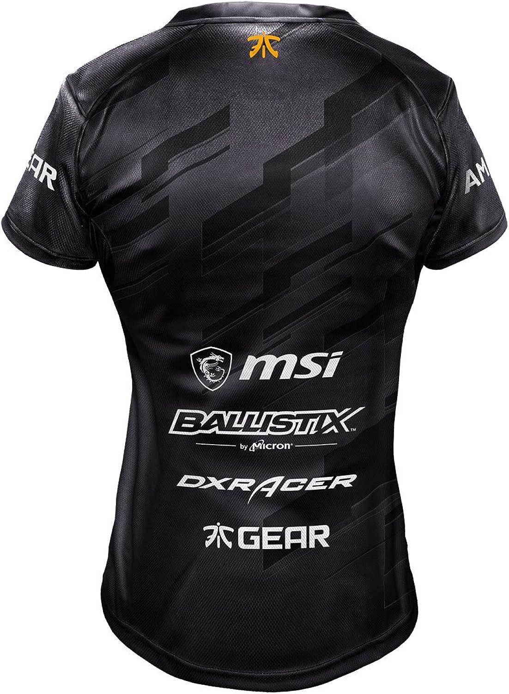 Fnatic Camiseta de jugadora del Equipo 2018 – Talla 2XL de Mujer: Amazon.es: Ropa y accesorios