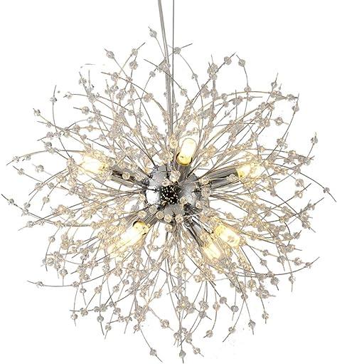 Deal of the week: BOKT Crystal Chandelier 12 Lights Beautiful Firework Pendant Light Fixtures
