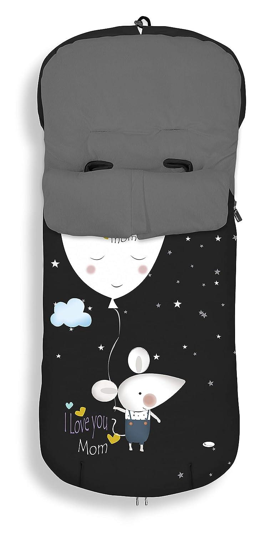 Saco Universal para Silla de Paseo Jirafa Hello INTERBABY Cien Estrellas