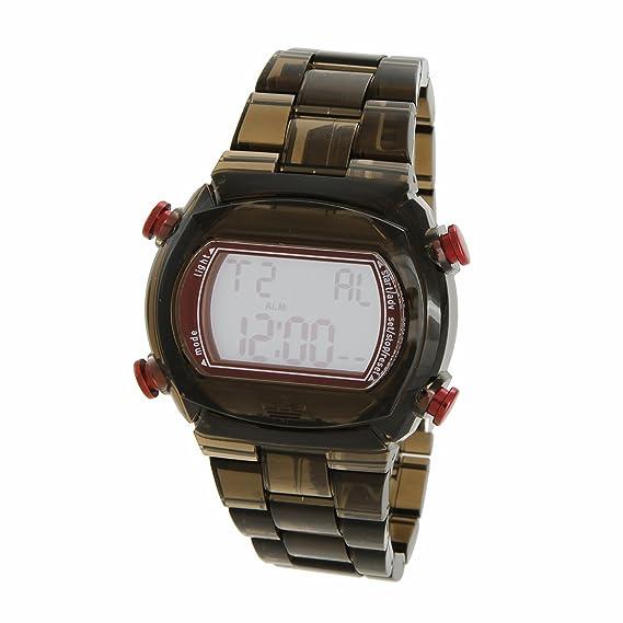 adidas Candy ADH6512 - Reloj digital de cuarzo unisex, correa de plástico color gris (