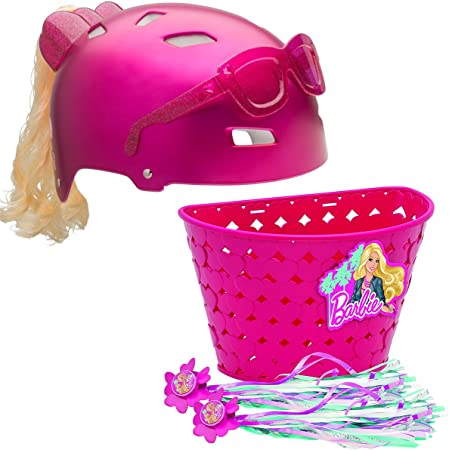 Bell Sports Barbie juego de cesta de casco bici Serpentinas ...