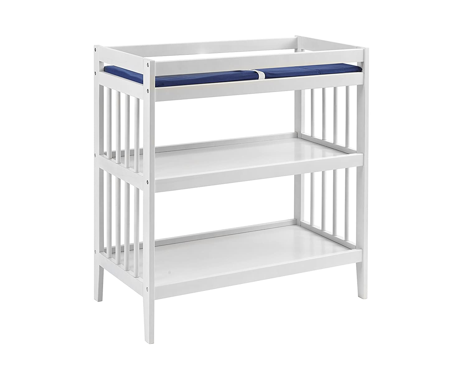 Westwood Design Echo Changing Table with Pad, Natural EC-CG-5117CT-NAT