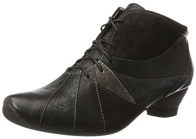 Think Damen SAMMAS_181092 Desert Boots, Schwarz (Sz/Kombi 09), 41 EU
