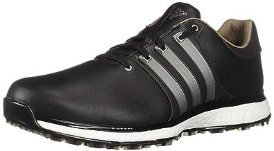 adidas Men s TOUR360 XT Spikeless Golf Shoe core Black Iron Silver  Metallic e1d0e3903