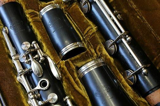 B Clarinete Buffet Crampon Pre-Prestige Full Boehm Perfect Condition + Case Funda de protección Negro: Amazon.es: Instrumentos musicales