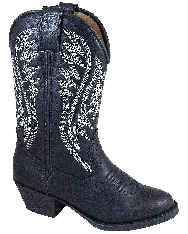 Smoky Mountain Girls Mesquite Western Boot Round Toe Black 7 D
