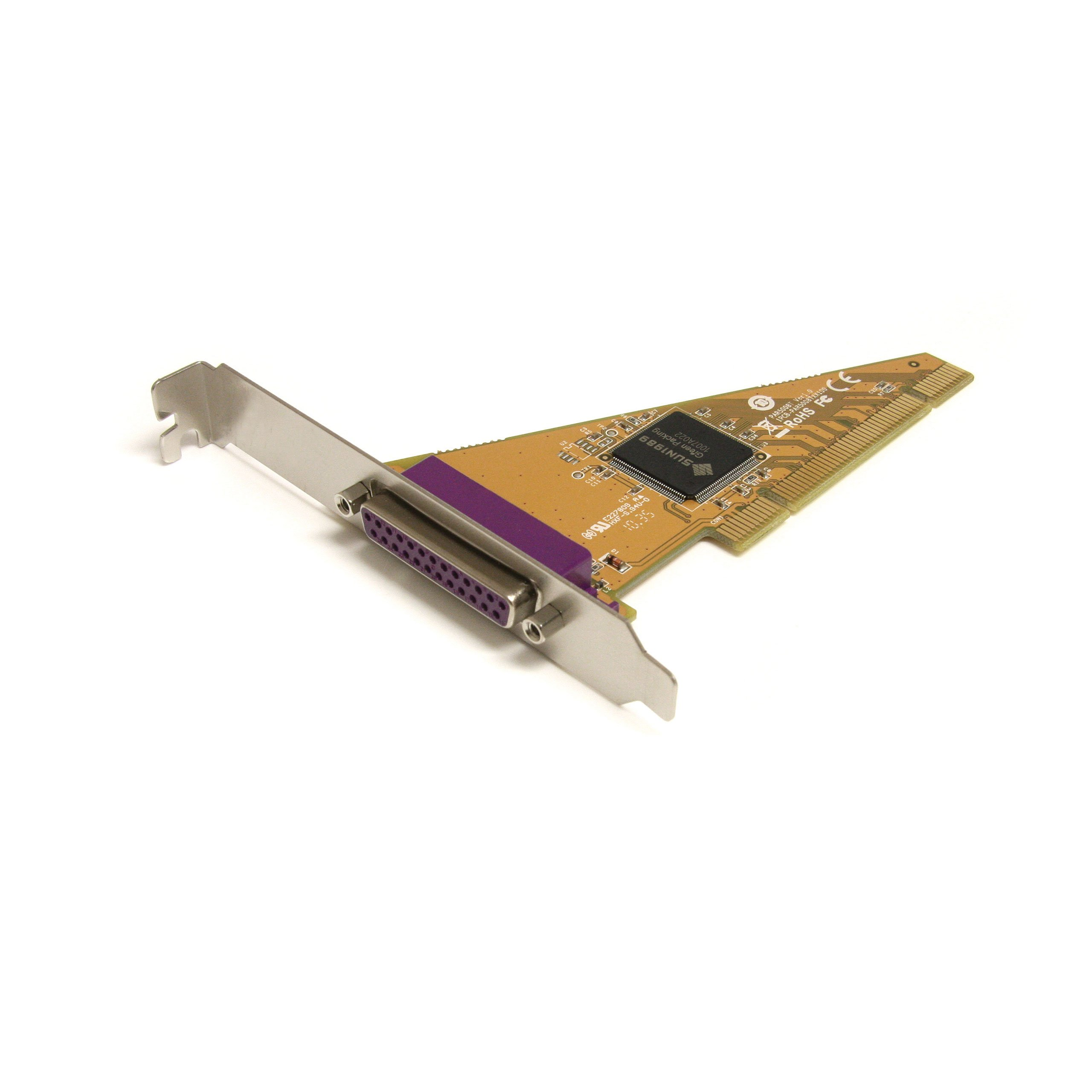 StarTech.com 1 Port PCI Parallel Adapter Card PCI1P2