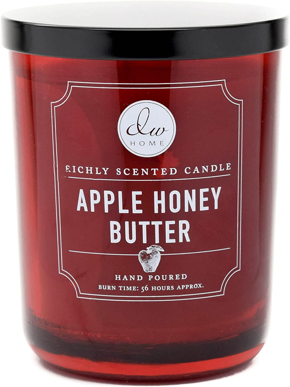 DW Home Decoware DW Home Apple Honey Butter Scented 2-Wick Large Candle