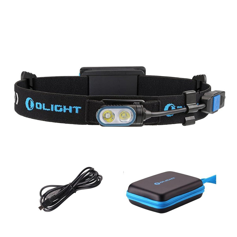 Linterna frontal Olight HS2 para cabeza con luz LED de 400lúmenes XP-G2CW, incluye batería incluye batería Olight-- HS2