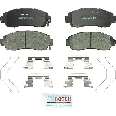 Bosch BC1521 QuietCast Premium Ceramic Disc Brake Pad Set For: Honda Crosstour, CR-V, Odyssey; Subaru Legacy, Front: Automotive