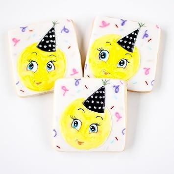 Amazon 1 2 Dz Emoji Birthday Cookies Happy To You