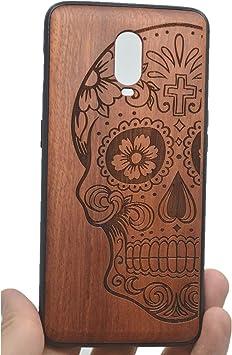 Phantom Sky Funda Protectora de Madera para OnePlus 6T, Natural Hecha a Mano de Bambú/Madera Carcasa Case Cover para tu Smartphone: Amazon.es: Electrónica