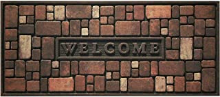 product image for Apache Mills Rock Wall 21 in. x 48 in. Recycled Rubber Door Mat