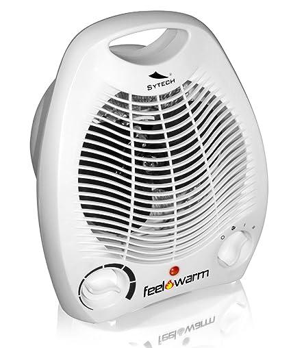 Termoventilador Calefactor Portatil Radiador por Aire Termostato Regulable y 3 velocidades 2986b