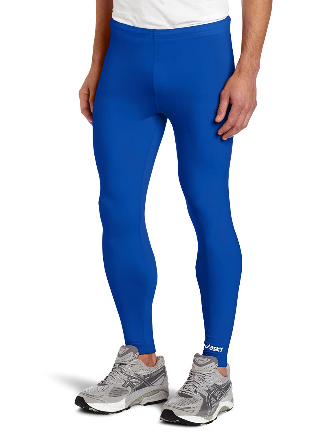 Amazon.com : Asics Men's Team Medley Tights : Mens Leggings Royal ...