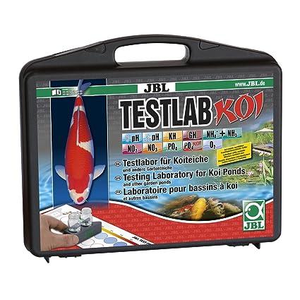 JBL 28020 profesional maletín de prueba de Koi y jardín estanque prueba Lab Koi: Amazon.es: Productos para mascotas