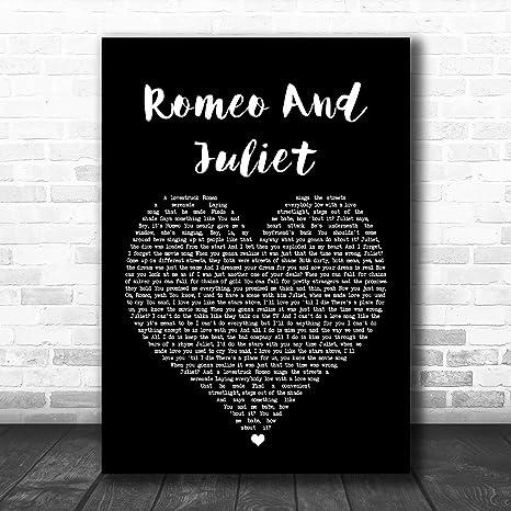 Citation De Paroles De Chanson De Romeo And Juliet Noir