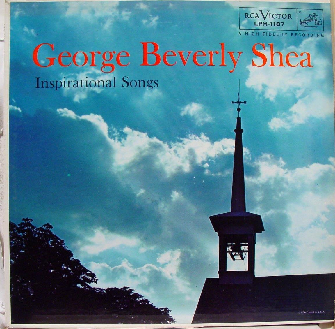 George Beverly Shea Inspirational Songs Record Vinyl Album HiFi Sound