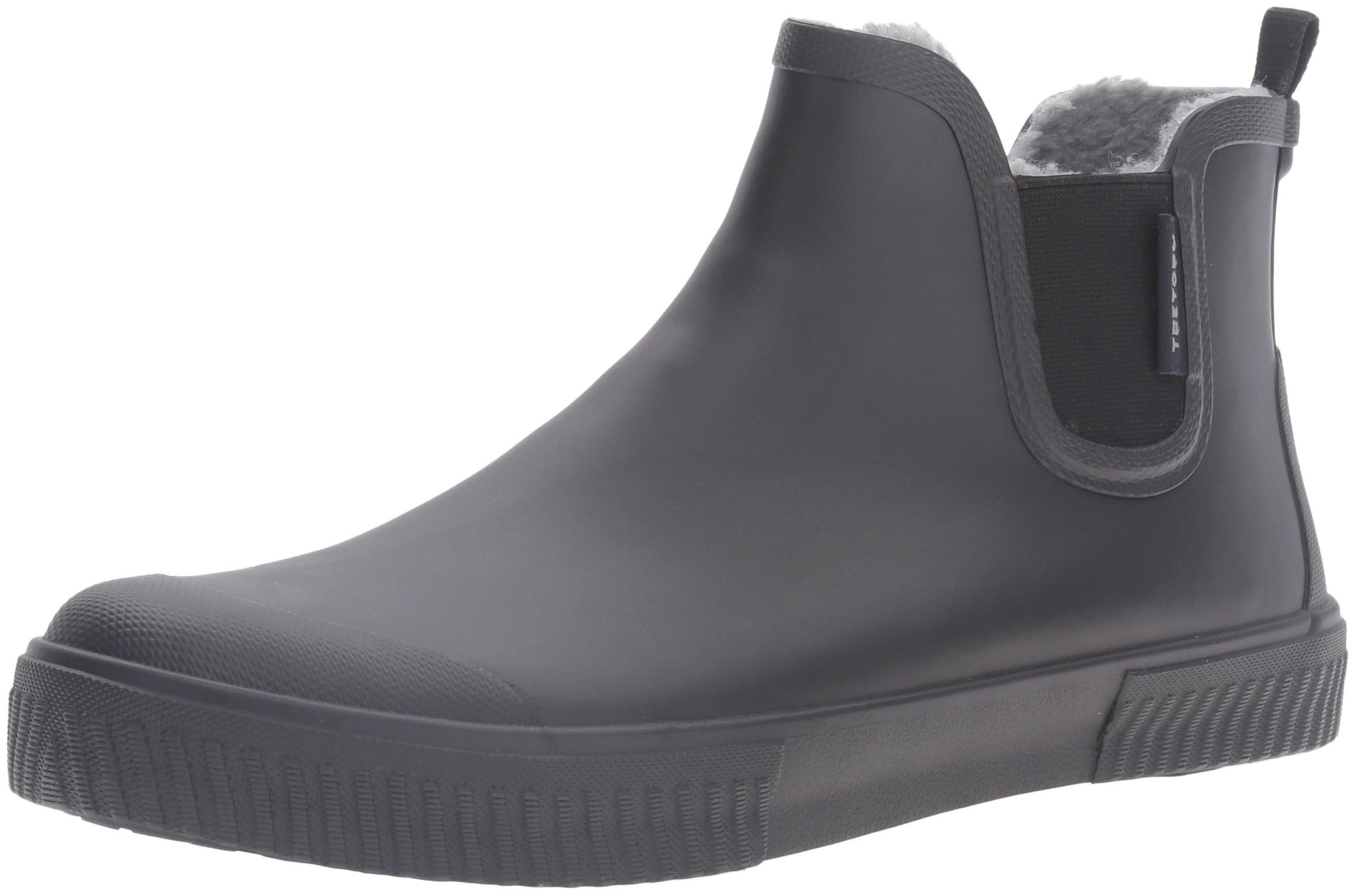 Tretorn Men's Gus Wnt Rain Boot, Black/Black/Black, 8 M US