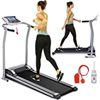 Deals on Goplus Electric Folding Treadmill with LED Touch Display