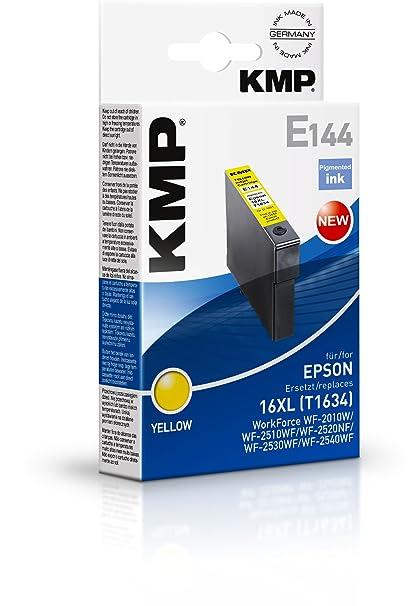 KMP E144 cartucho de tinta Amarillo - Cartucho de tinta para ...