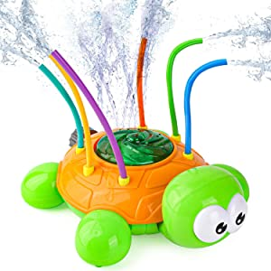Agltp Sprinkler for Kids, Kids Sprinkler Toy with Wiggle Tubes for Backyard,Water Toys, Lawn, Outdoor Play, Garden Water Toys for Toddlers Boys Girls Pets
