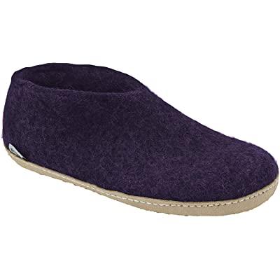 Glerups Shoe Slipper Purple, 43.0 | Slippers