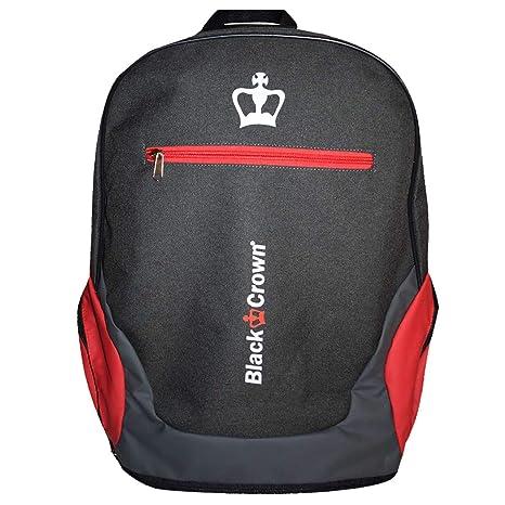 Mochilla Bit Gris Rojo - Black Crown: Amazon.es: Deportes y aire libre