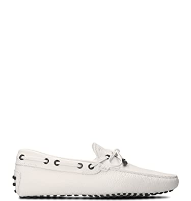 Men's XXM0GW0W770NLKB001 White Leather Loafers