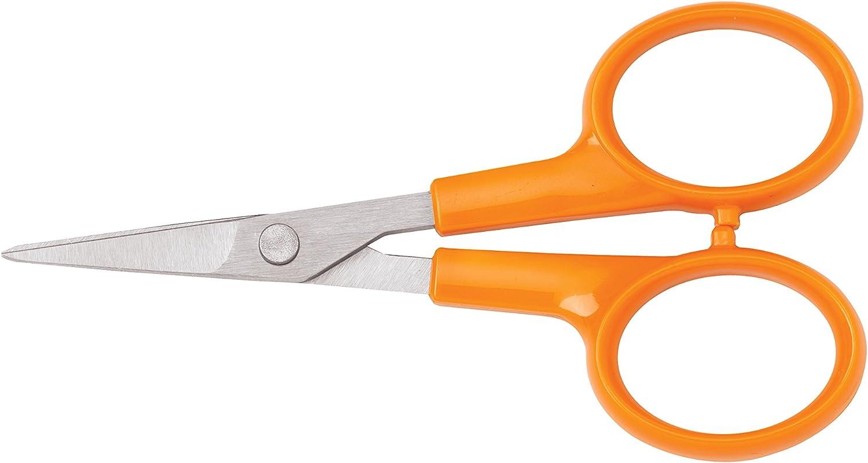 Amazon.com : Fiskars 4 Inch Detail Scissors : Fiskars Sewing Scissors :  Arts, Crafts & Sewing