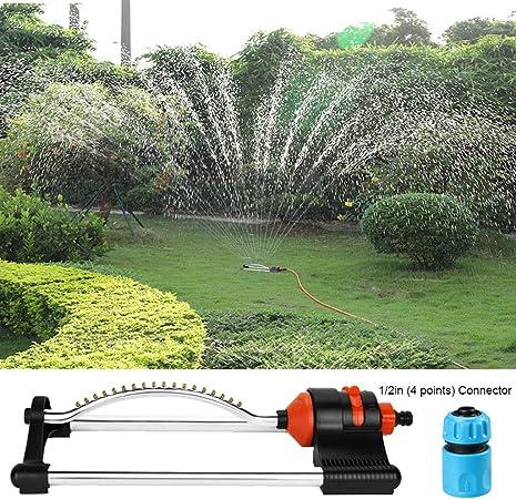 LIJUEZL Jardinería automática Swing rociador Chorro de Agua Boquilla-para riego césped/jardín riego/Roof enfriamiento,A: Amazon.es: Hogar