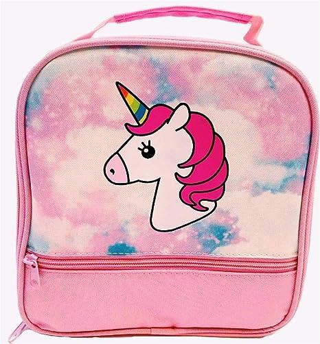 Amazon.com: Fiambrera de unicornio para niñas. Bolsa de ...