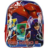 Disney Big Hero 6 Baymax Hiro School Backpack Bag - 15 Inch