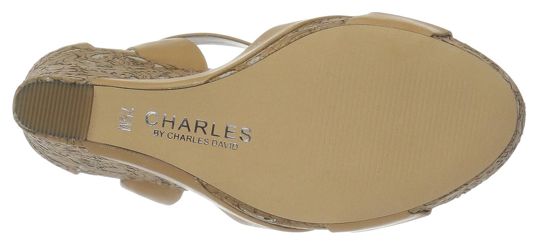 Charles by Charles David Women's Amsterdam Wedge Sandal B01M6UMA3P 8 B(M) US|Natural