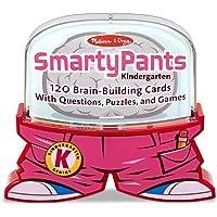Melissa & Doug 5071 Smarty Pants Kindergarten Card Set - 120 Educational, Brain-Building Questions, Puzzles, and Games
