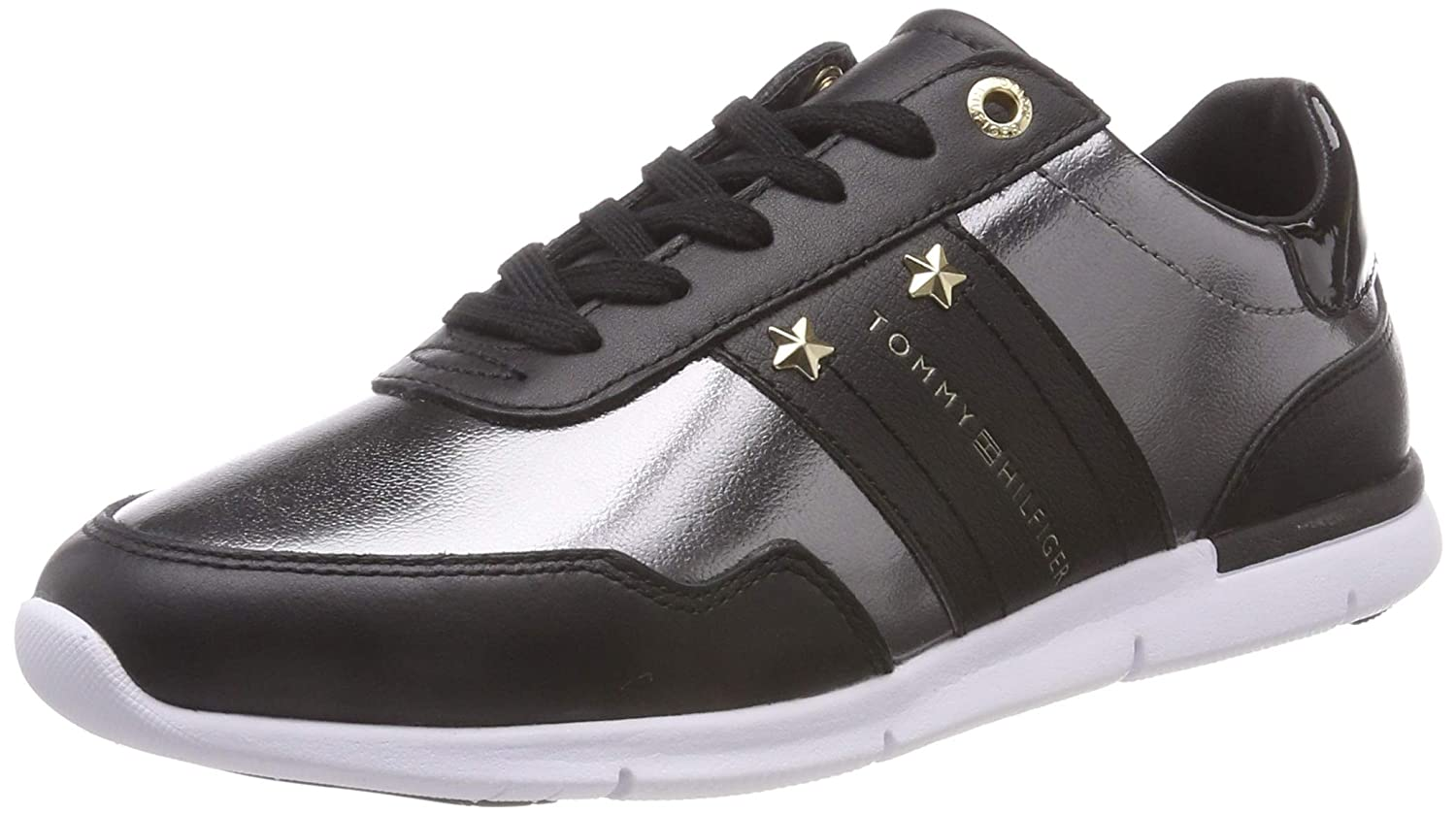 TALLA 38 EU. Tommy Hilfiger Tommy Essential Leather Sneaker, Zapatillas para Mujer