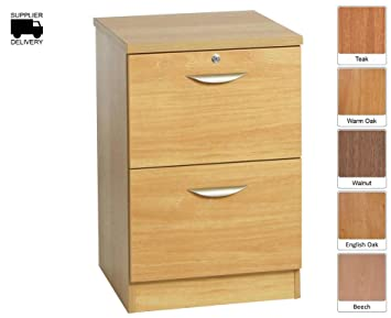 R White Filing Cabinet 2 Drawer B-2DF H728xW479xD540mm - Color ...