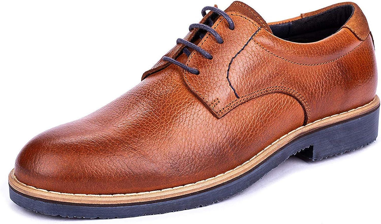 DCalderoni Veleta Marrón Zapatos De Vestir con Cordones para Hombre 45-50 EU