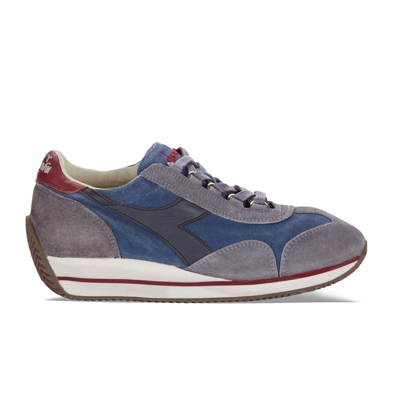Diadora Heritage - Sneakers Equipe W S. Sw HH para Mujer EU 40 - US 7 - UK 6.5 (cm 25) C6373 - Azul-gris Cadena Cage