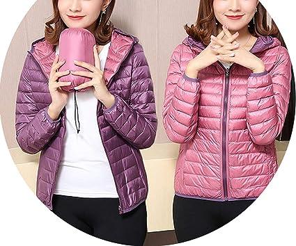 Amazon.com: Chaqueta de invierno para mujer, chaqueta de dos ...