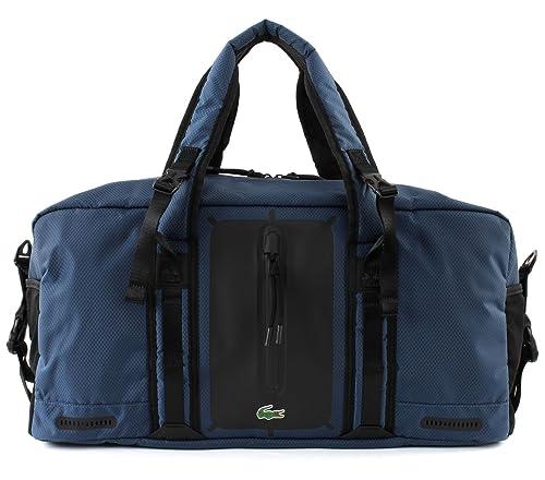 0d470c698a09e4 Lacoste Match Point Gym Bag Majolica Blue Black: Amazon.it: Scarpe e borse