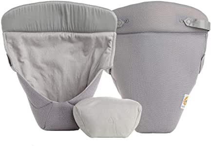 Ergobaby Easy Snug Infant Insert, Grey, Cool Air Mesh