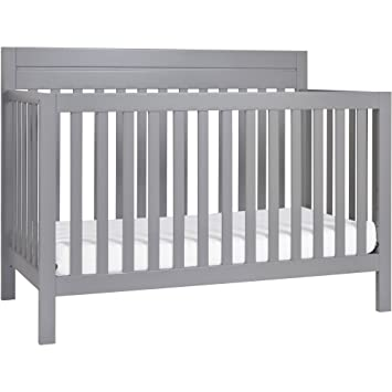 Charmant Baby Mod Modena 4 In 1 Convertible Crib, Grey