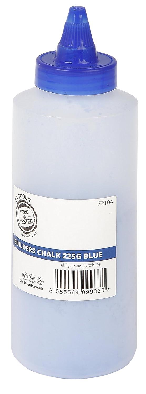 Tratado de + probado constructores tiza azul 225 G Tried + Tested Tools