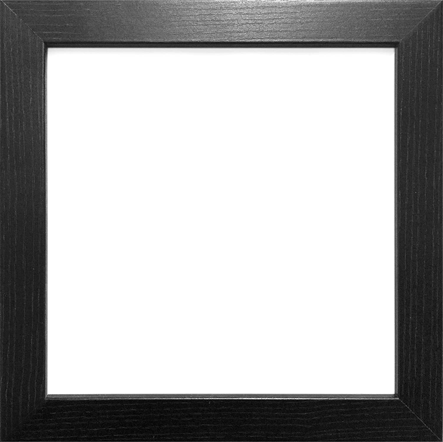 60X60CM BLACK COLOUR MODERN BOX FRAMES WOOD FINISH PHOTO PICTURE ...