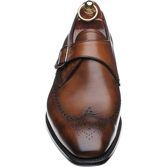 Arenque Rothwell II zapatos de monje en caoba Calf, color Marrón, talla 39.5
