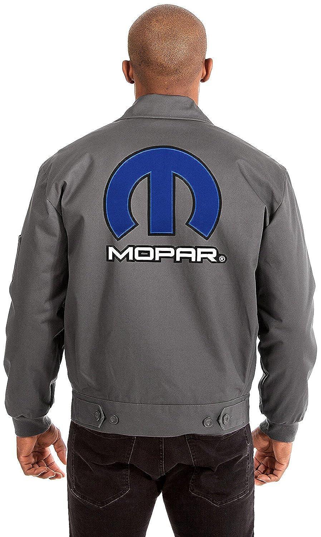 JH DESIGN GROUP Mopar Mens Mechanics Jacket with Front /& Back Emblems