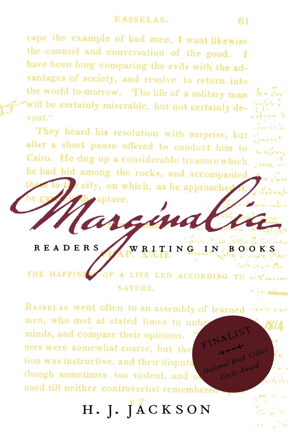 Marginalia: Readers Writing in Books