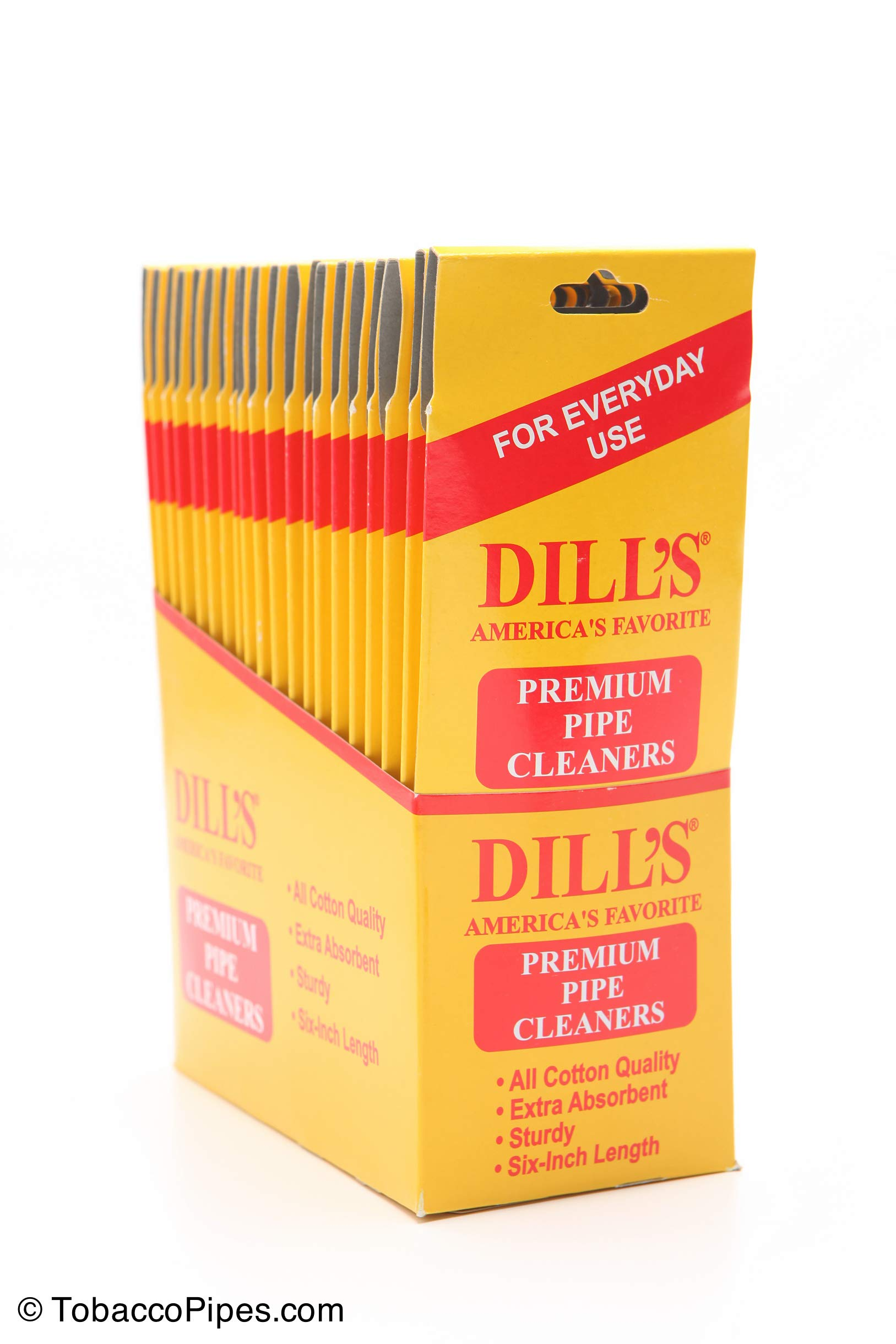 Dill's Daily Tobacco Pipe Cleaner (6 Pack) by Dill's Daily