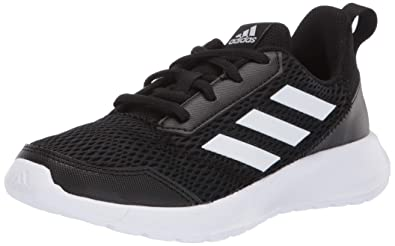 2c2df3bb32 adidas Kids' Altarun Running Shoe, Black/White/Black, 1 Medium US